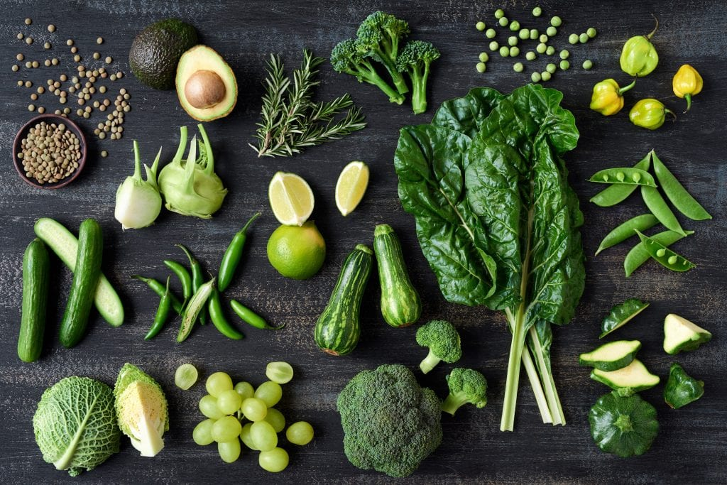 leafy green vegetables contain rich sources of calcium