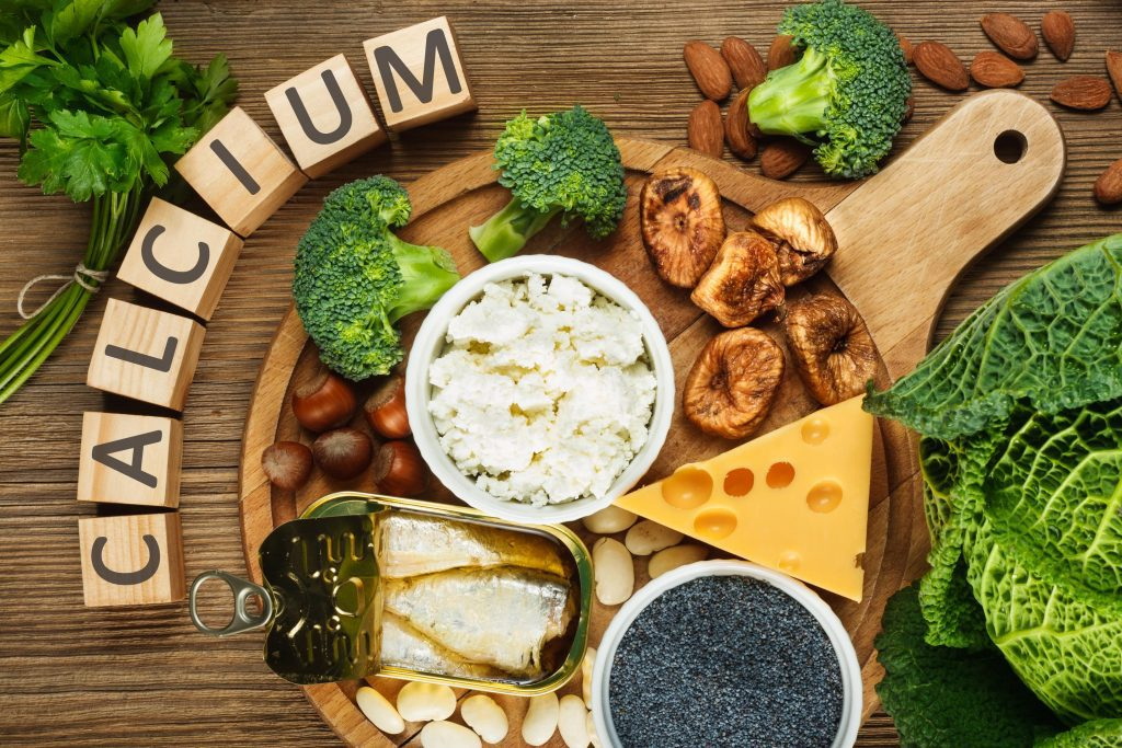 calcium for strong enamel